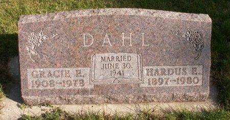 DAHL, HARDUS E. - Roberts County, South Dakota | HARDUS E. DAHL - South Dakota Gravestone Photos