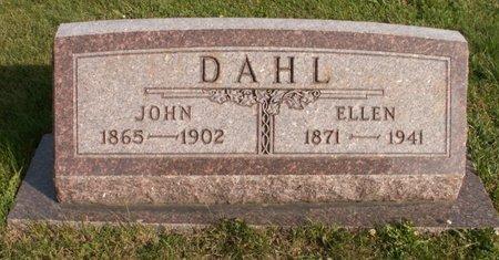 DAHL, ELLEN - Roberts County, South Dakota | ELLEN DAHL - South Dakota Gravestone Photos