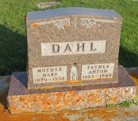DAHL, ANTON - Roberts County, South Dakota   ANTON DAHL - South Dakota Gravestone Photos