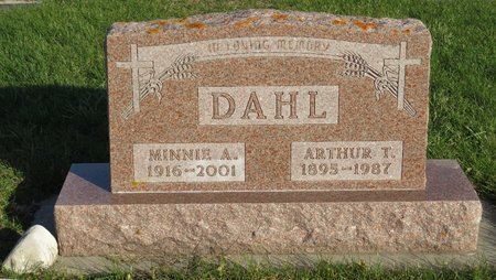 DAHL, MINNIE A. - Roberts County, South Dakota | MINNIE A. DAHL - South Dakota Gravestone Photos