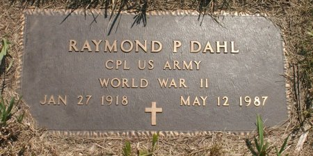 DAHL, RAYMOND P - Roberts County, South Dakota | RAYMOND P DAHL - South Dakota Gravestone Photos