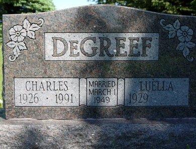 DEGREEF, CHARLES - Roberts County, South Dakota   CHARLES DEGREEF - South Dakota Gravestone Photos