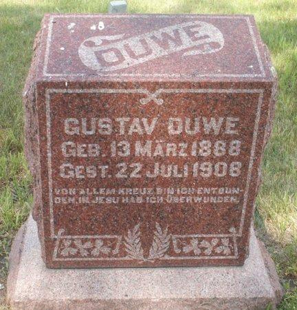 DUWE, GUSTAV - Roberts County, South Dakota | GUSTAV DUWE - South Dakota Gravestone Photos