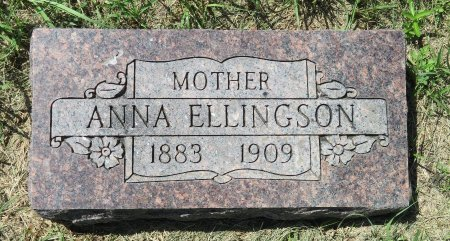 ELLINGSON, ANNA - Roberts County, South Dakota | ANNA ELLINGSON - South Dakota Gravestone Photos