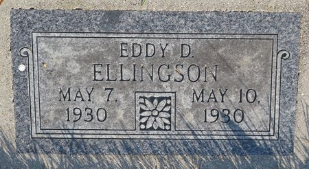 ELLINGSON, EDDY D. - Roberts County, South Dakota | EDDY D. ELLINGSON - South Dakota Gravestone Photos