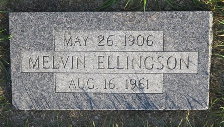 ELLINGSON, MELVIN - Roberts County, South Dakota | MELVIN ELLINGSON - South Dakota Gravestone Photos