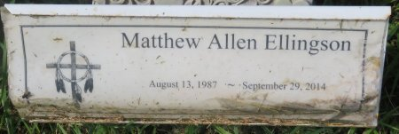 ELLINGSON, MATTHEW ALLEN - Roberts County, South Dakota   MATTHEW ALLEN ELLINGSON - South Dakota Gravestone Photos