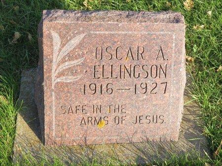 ELLINGSON, OSCAR A. - Roberts County, South Dakota | OSCAR A. ELLINGSON - South Dakota Gravestone Photos