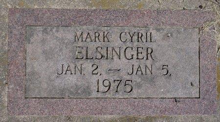 ELSINGER, MARK CYRIL - Roberts County, South Dakota | MARK CYRIL ELSINGER - South Dakota Gravestone Photos