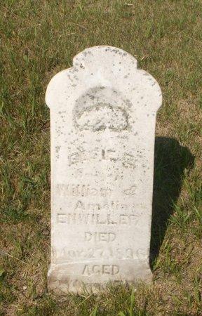 ENWILLER, ELSIE? E - Roberts County, South Dakota | ELSIE? E ENWILLER - South Dakota Gravestone Photos