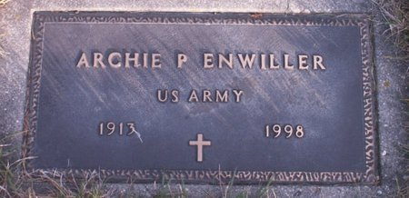 ENWILLER, ARCHIE P - Roberts County, South Dakota | ARCHIE P ENWILLER - South Dakota Gravestone Photos