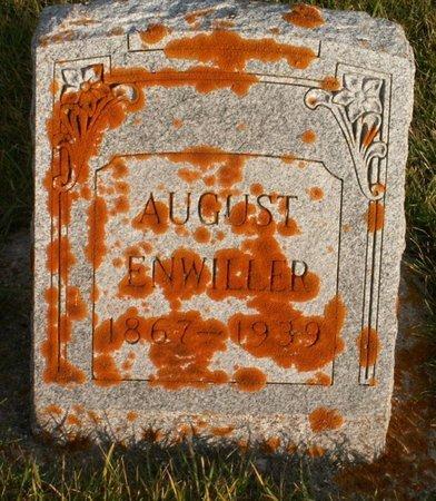 ENWILLER, AUGUST - Roberts County, South Dakota | AUGUST ENWILLER - South Dakota Gravestone Photos