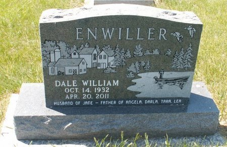 ENWILLER, DALE WILLIAM - Roberts County, South Dakota | DALE WILLIAM ENWILLER - South Dakota Gravestone Photos