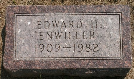 ENWILLER, EDWARD H - Roberts County, South Dakota | EDWARD H ENWILLER - South Dakota Gravestone Photos