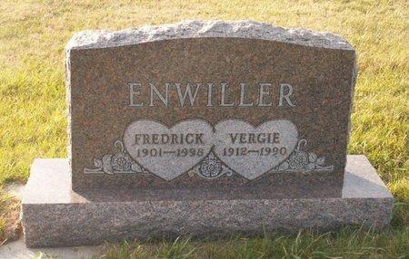 ENWILLER, VERGIE - Roberts County, South Dakota | VERGIE ENWILLER - South Dakota Gravestone Photos