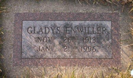 ENWILLER, GLADYS - Roberts County, South Dakota | GLADYS ENWILLER - South Dakota Gravestone Photos