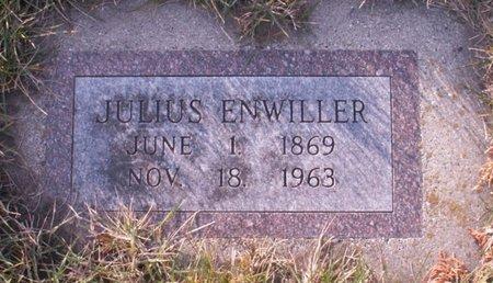 ENWILLER, JULIUS - Roberts County, South Dakota | JULIUS ENWILLER - South Dakota Gravestone Photos