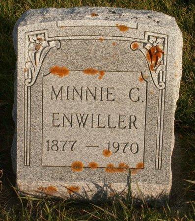 ENWILLER, MINNIE G. - Roberts County, South Dakota | MINNIE G. ENWILLER - South Dakota Gravestone Photos