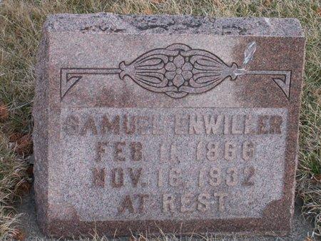 ENWILLER, SAMUEL - Roberts County, South Dakota | SAMUEL ENWILLER - South Dakota Gravestone Photos