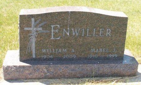 ENWILLER, WILLIAM A. - Roberts County, South Dakota | WILLIAM A. ENWILLER - South Dakota Gravestone Photos