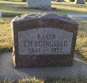 FJERDINGSTAD, KAREN - Roberts County, South Dakota | KAREN FJERDINGSTAD - South Dakota Gravestone Photos