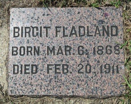 FLADLAND, BIRGIT - Roberts County, South Dakota | BIRGIT FLADLAND - South Dakota Gravestone Photos
