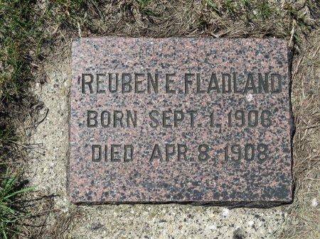 FLADLAND, REUBEN E. - Roberts County, South Dakota | REUBEN E. FLADLAND - South Dakota Gravestone Photos