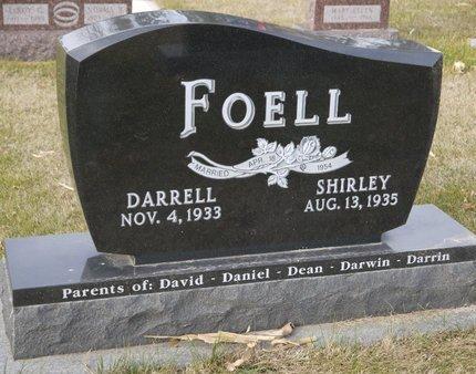 FOELL, DARRELL K. - Roberts County, South Dakota   DARRELL K. FOELL - South Dakota Gravestone Photos