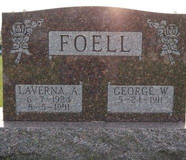 FOELL, GEORGE W. - Roberts County, South Dakota   GEORGE W. FOELL - South Dakota Gravestone Photos