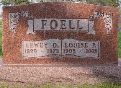 FOELL, LOUISE P. - Roberts County, South Dakota | LOUISE P. FOELL - South Dakota Gravestone Photos