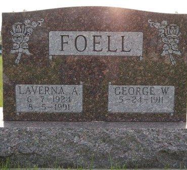 FOELL, LAVERNA A. - Roberts County, South Dakota | LAVERNA A. FOELL - South Dakota Gravestone Photos