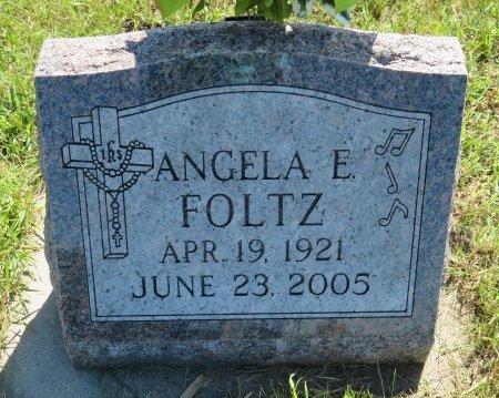 FOLTZ, ANGELA E. - Roberts County, South Dakota   ANGELA E. FOLTZ - South Dakota Gravestone Photos