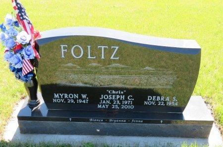 FOLTZ, MYRON W. - Roberts County, South Dakota   MYRON W. FOLTZ - South Dakota Gravestone Photos