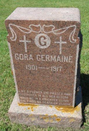 GERMAINE, CORA - Roberts County, South Dakota   CORA GERMAINE - South Dakota Gravestone Photos