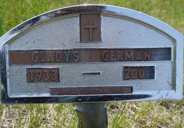 GERMAN, GLADYS - Roberts County, South Dakota | GLADYS GERMAN - South Dakota Gravestone Photos