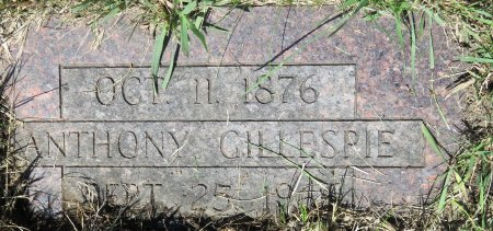 GILLESPIE, ANTHONY - Roberts County, South Dakota | ANTHONY GILLESPIE - South Dakota Gravestone Photos