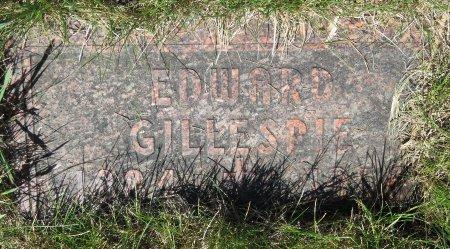 GILLESPIE, EDWARD - Roberts County, South Dakota   EDWARD GILLESPIE - South Dakota Gravestone Photos