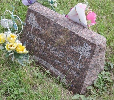 GRAY, BERTON PHILIP - Roberts County, South Dakota | BERTON PHILIP GRAY - South Dakota Gravestone Photos