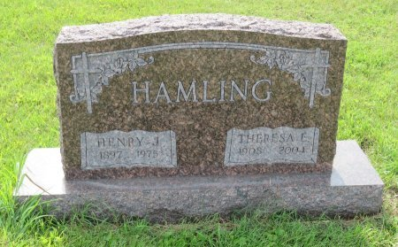 HAMLING, THERESA E. - Roberts County, South Dakota | THERESA E. HAMLING - South Dakota Gravestone Photos