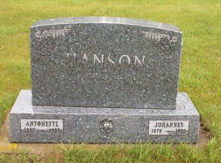 HANSON, JOHANNES - Roberts County, South Dakota | JOHANNES HANSON - South Dakota Gravestone Photos