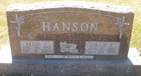 HANSON, ALVIN J. - Roberts County, South Dakota   ALVIN J. HANSON - South Dakota Gravestone Photos