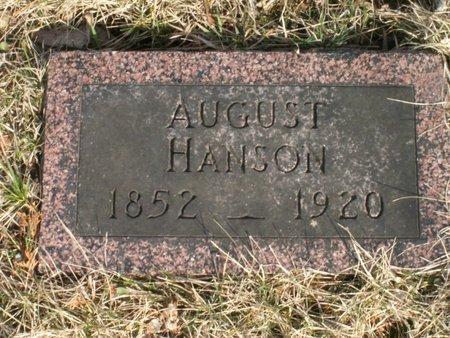 HANSON, AUGUST - Roberts County, South Dakota   AUGUST HANSON - South Dakota Gravestone Photos
