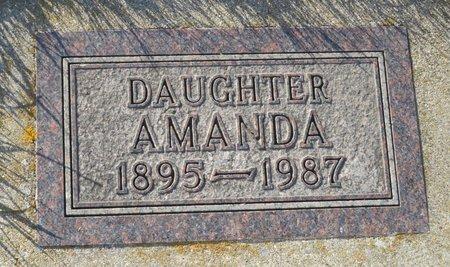 HANSON, AMANDA - Roberts County, South Dakota   AMANDA HANSON - South Dakota Gravestone Photos