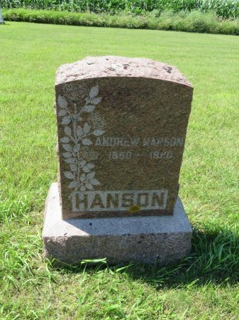 HANSON, ANDREW - Roberts County, South Dakota | ANDREW HANSON - South Dakota Gravestone Photos