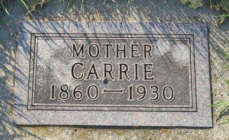 HANSON, CARRIE - Roberts County, South Dakota   CARRIE HANSON - South Dakota Gravestone Photos