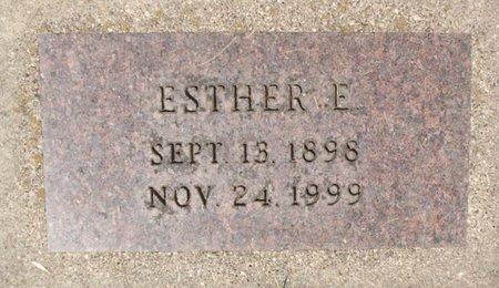 HANSON, ESTHER E. - Roberts County, South Dakota | ESTHER E. HANSON - South Dakota Gravestone Photos