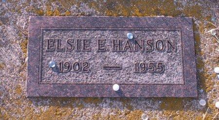 HANSON, ELSIE E. - Roberts County, South Dakota | ELSIE E. HANSON - South Dakota Gravestone Photos