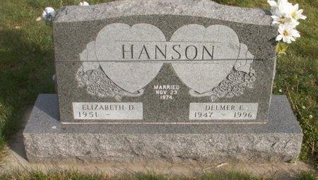 HANSON, DELMER E. - Roberts County, South Dakota | DELMER E. HANSON - South Dakota Gravestone Photos