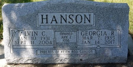HANSON, ALVIN C. - Roberts County, South Dakota | ALVIN C. HANSON - South Dakota Gravestone Photos