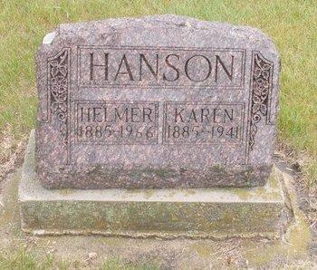 HANSON, KAREN - Roberts County, South Dakota | KAREN HANSON - South Dakota Gravestone Photos